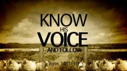 know-his-voice